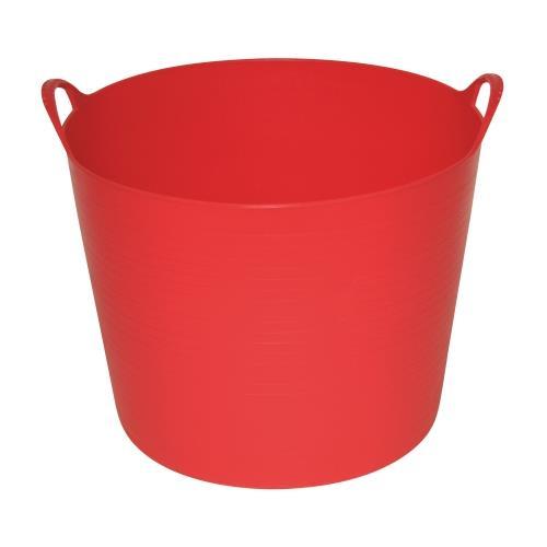 Plastový kbelík FLEXI, 42 - 45 l - tmavě modrá Plastový kbelík FLEXI, 42 - 45 l