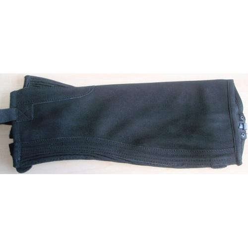 Minichaps Covaliero Amara, velurová kůže, černé - XS Minichaps, velurová kůže, černé