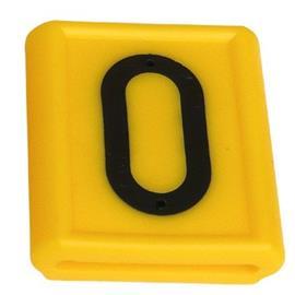 Číslo na opasek GEA, výška znaku 40 mm - číslice 0-9 - 4