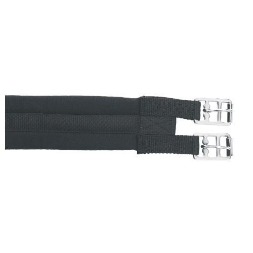 Bavlněný podbřišník Kerbl - 100 cm - černý Podbřišník bavlněný, 100 cm, černý