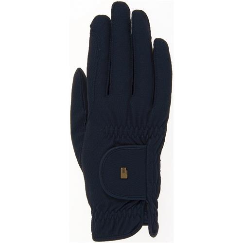 Jezdecké rukavice Roeckl Roeck-Grip, černé - vel. 7 Rukavice jezdecké Roeckl, Roeck-Grip, černé