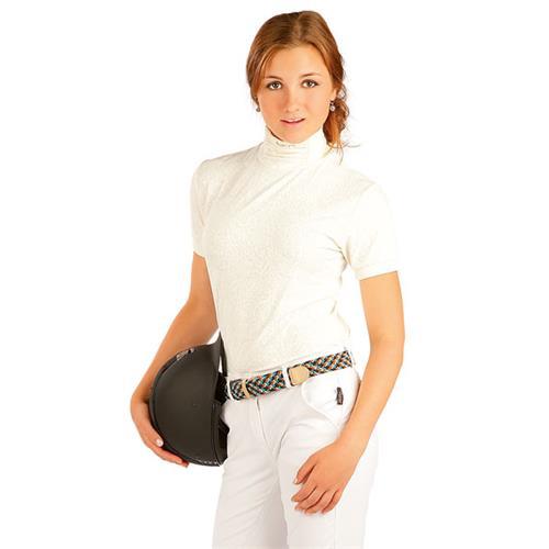 Dámské závodní triko Litex, smetanové - vel. XS Triko dámské, závodní, smetanové