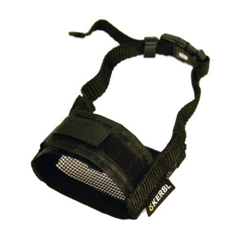 Fixační nylonový náhubek pro psa, černý - 12-14 cm Náhubek pro psa, nylon