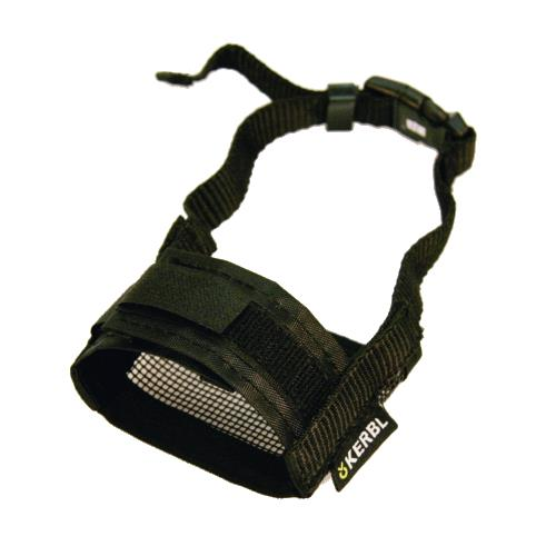 Fixační nylonový náhubek pro psa, černý - 14-20 cm Náhubek pro psa, nylon