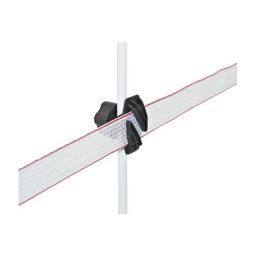 Tyčka pro elektrické ohradníky sklolaminátová 115 cm, průměr 10 mm - kovová špička Tyčka pro elektrické ohradníky sklolaminátová 115 cm, průměr 10 mm