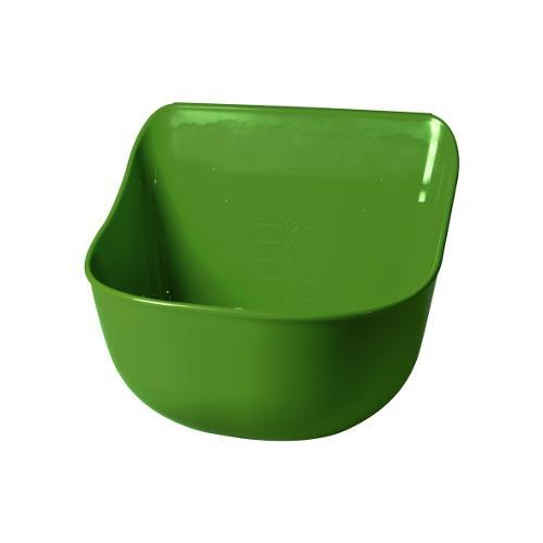 Plastový žlab KA rovný 12 l - zelená Plastový žlab KA rovný 12 l
