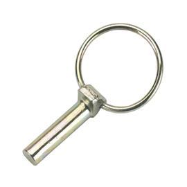 Kolík zajišťovací zaklapovací, 6 ks - 11 mm