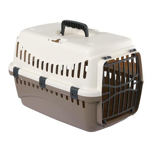 Transportní box pro psy a kočky Expedion, 48x32x31 cm - krémová/hnědá Box tran. Expedion, hnědá, 48x32x31 cm, max. 10kg