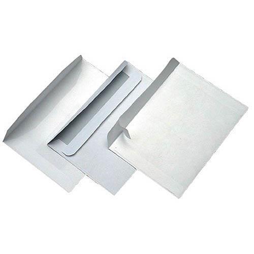 Obálka samolepící, 50 ks ve folii - DL s okénkem Obálka samolepící, 50 ks ve folii