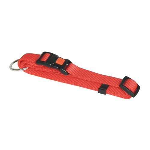 Obojek pro psa, nylonový, červený - 40-55 cm Obojek pro psa, nylonový, červený