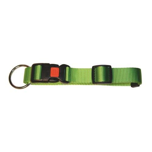 Obojek pro psa, nylonový, zelený - 30-45 cm Obojek pro psa, nylonový, zelený