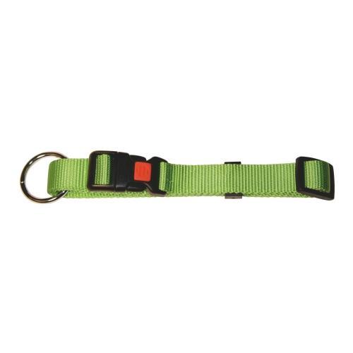 Obojek pro psa, nylonový, zelený - 40-55 cm Obojek pro psa, nylonový, zelený