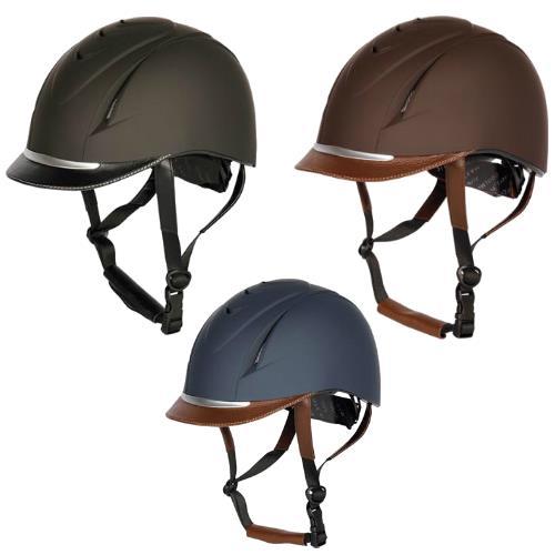 Jezdecká přilba Harrys Horse Challenge - modro-hnědá, vel. S/M Jezdecká přilba Harrys Horse Challenge