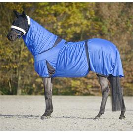 Ochranná deka pro koně trpící ekzémy Waldhausen, modrá, 155/205 cm