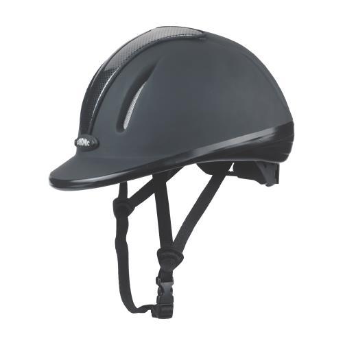 Jezdecká bezpečnostní přilba Covalliero Carbonic, černá - S/M (53-57 cm) Jezdecká přilba CARBONIC