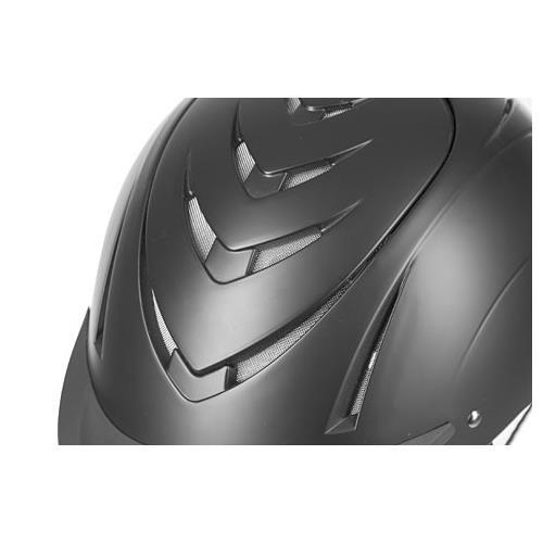 Jezdecká bezpečnostní přilba Covalliero Nerron, černá - vel. 55-59 Přilba jezdecká Kerbl Nerron, černá, vel. 55-59