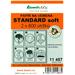 Papír na vemena STANDARD soft - 108 balení - 2 x 800 útržků Papír na vemena STANDARD soft 2x800 útržků