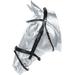 Kožená uzdečka Kentaur s kovovými kroužky