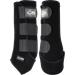 Zadní neoprenové chrániče Velcro Kentaur, černé / bílé - černé - vel. 2 Neoprenové zadní chrániče Velcro Kentaur, černé, vel. 2
