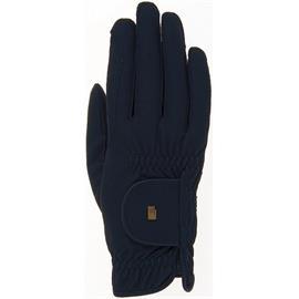 Jezdecké rukavice Roeckl Roeck-Grip, černé - vel. 10
