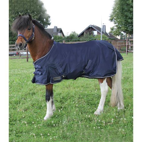 Nepromokavá deka ELT, modrá, vel. Pony - 80 cm Deka nepromokavá pony modrá