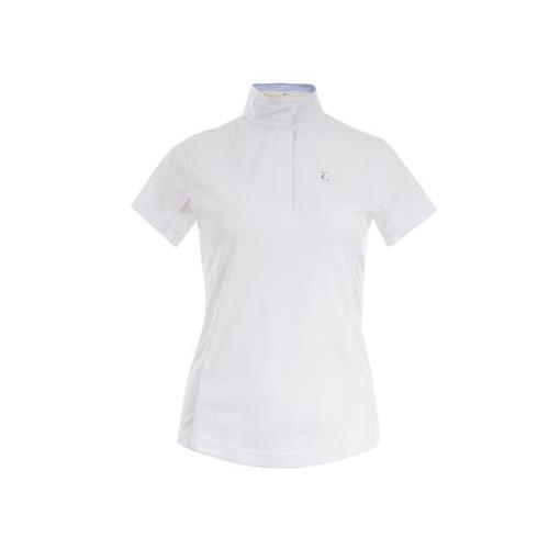 Dámské závodní triko Horze Blaire, bílé - vel. 44 Triko závodní Horze Blaire, bílé, vel. 44