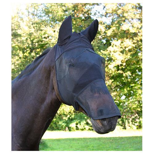 Maska proti hmyzu s krytkou přes nos Covalliero, černá - vel. Full Maska Kerbl, krytka přes nos, černá, vel. Full