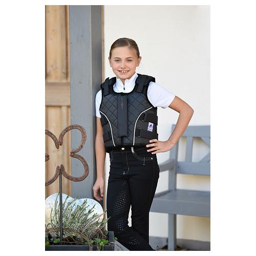 Jezdecká bezpečnostní vesta Covalliero Flex Lite 315 BETA, černá - dospělí, vel. L Vesta bezpečnostní Flex Lite 315 BETA, vel. L