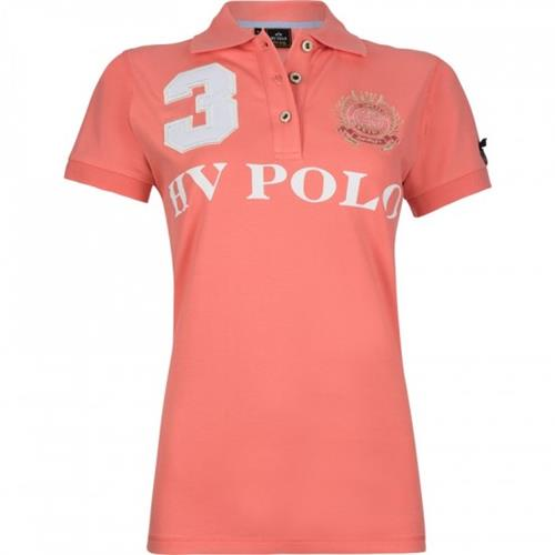 Dámské polotriko HV Polo Favouritas - korálové, vel. L Triko dámské HV Polo Favouritas, korál, vel. L