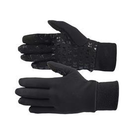 Zateplené rukavice Horze, s protiskluzem, černé - vel.10