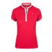 Dámské triko Euro-Star Jacki, červené / modré - červené, vel. M