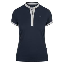 Dámské triko Euro-Star Jacki, červené / modré - modré, vel. M