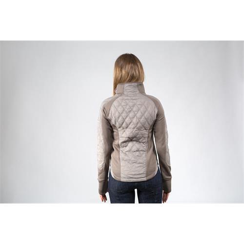 Dámská bunda Horze Zoe - šedá, vel. 42 Bunda dámská Horze Zoe, lehká, šedá, vel. 42