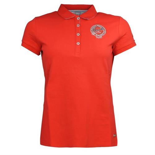 Dámské triko HV Polo Lisette, červené - vel. L Triko dámské HV Polo Lisette, červené