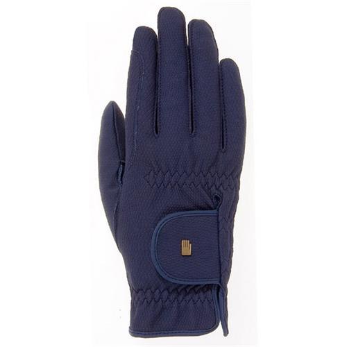 Jezdecké rukavice Roeckl Roeck-Grip, modré - vel. 9 Rukavice jezdecké Roeckl, Roeck-Grip, modré, vel. 9