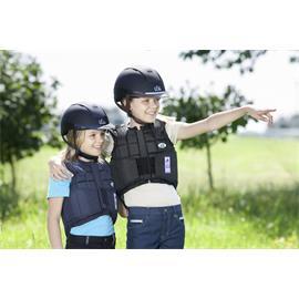 Jezdecká bezpečnostní vesta USG FLEXI - dětská, modrá, vel. XL