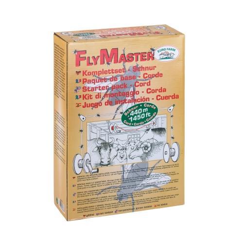 Lapač much FlyMaster - šňůra 400 m, stájová, komplet Lapač much FlyMaster - šňůra 400 m, stájová, komplet