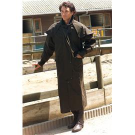 Australský kabát Randol's, dlouhý, hnědý - vel. XXL