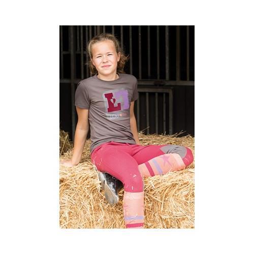 Dětské triko Harrys Horse LouLou Royton - šedé, vel. 140 Triko dětské HH LouLou Royton, šedé, vel. 140