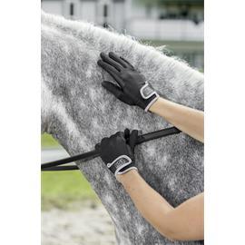 Jezdecké rukavice USG Malibu, černé - vel. L