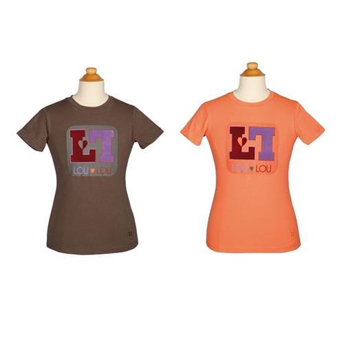 Dětské triko Harrys Horse LouLou Royton - korálové, vel. 140 Dětské triko Harrys Horse LouLou Royton