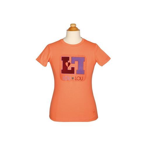 Dětské triko Harrys Horse LouLou Royton - korálové, vel. 140 Triko dětské HH LouLou Royton, korálové, vel. 140