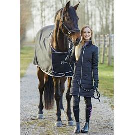 Dámský jezdecký kabát Covalliero Joline 2018, černý - vel. XL