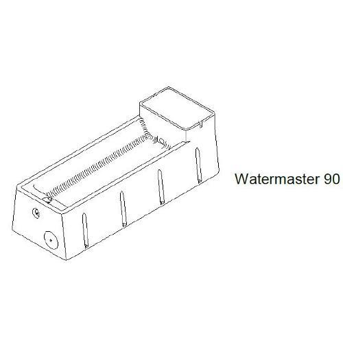 Napájecí žlab GEA THERMO Watermaster - Watermaster 90 - 114 l Foto Watermaster 90
