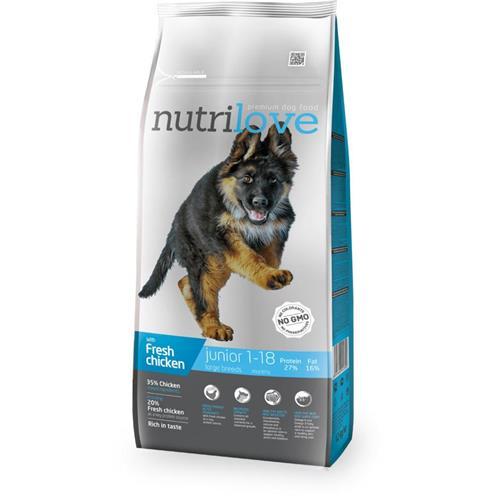 Granule Nutrilove pes, Junior L, 3 kg Granule Nutrilove pes, Junior L, 3 kg