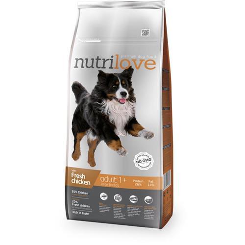 Granule Nutrilove pes, Adult L, 12 kg Granule Nutrilove pes, Adult L, 12 kg