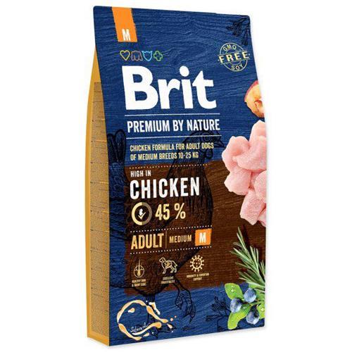 Brit Premium by Nature Adult M - 8 kg Granule Brit pes by Nature, Adult M, 8 kg