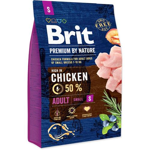 Brit Premium by Nature Adult S, 8 kg Granule Brit pes by Nature, Adult S, 8 kg