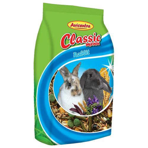Krmivo pro králíky Avicentra Classic, 1 kg Krmivo pro králíky Avicentra, Classic, 1 kg