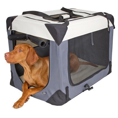 Nylonový transportní box Kerbl Journey - 70 x 52 x 52 cm Box transportní pro psy, nylon